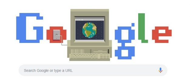 구글 두들 WWW 탄생 30주년 이미지